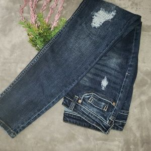 Jeans by Buffalo distressed skinny jeans. Size 27